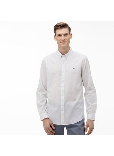 Lacoste Erkek  Gömlek CH0057.57A Beyaz